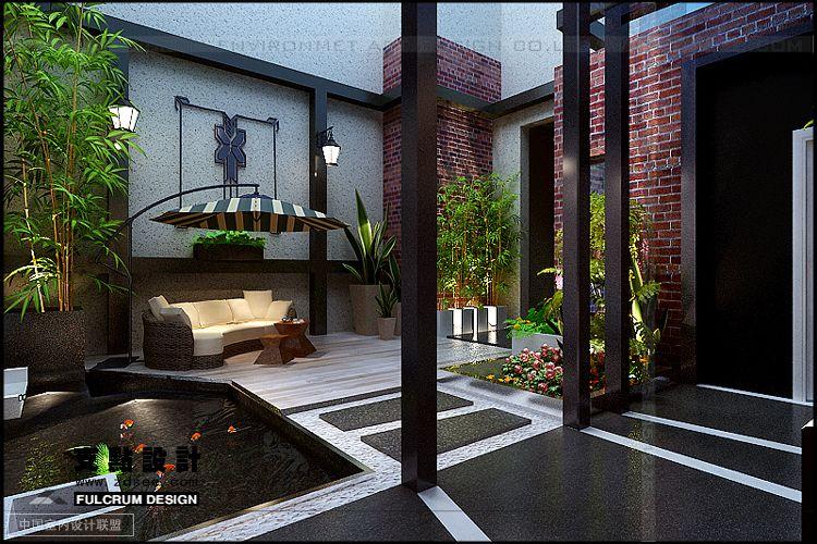 Courtyard Deck 2 Interior Design Ideas