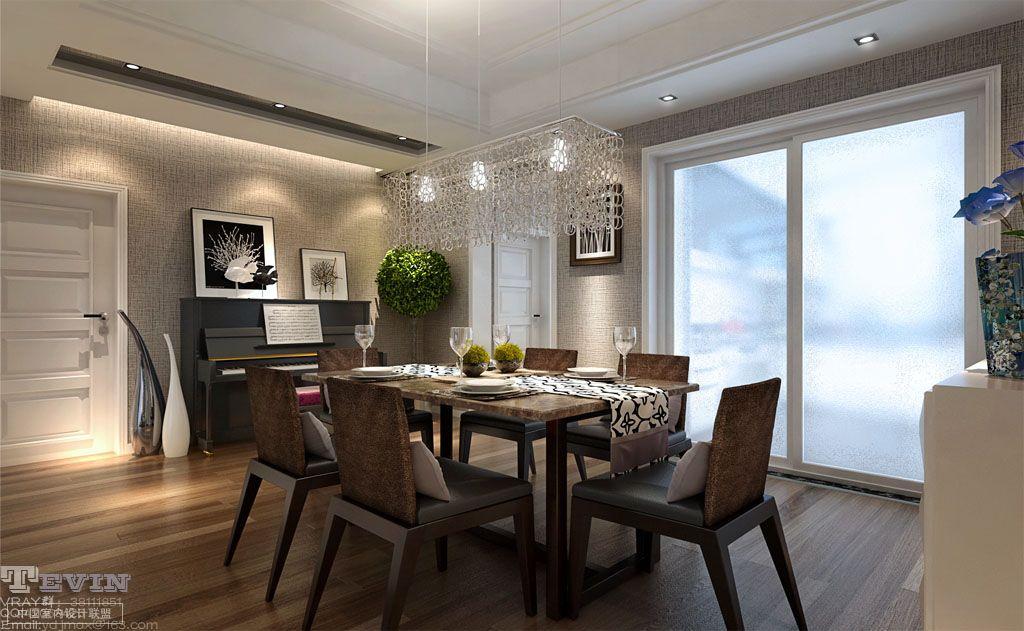dining room pendant lighting interior design ideas. Black Bedroom Furniture Sets. Home Design Ideas