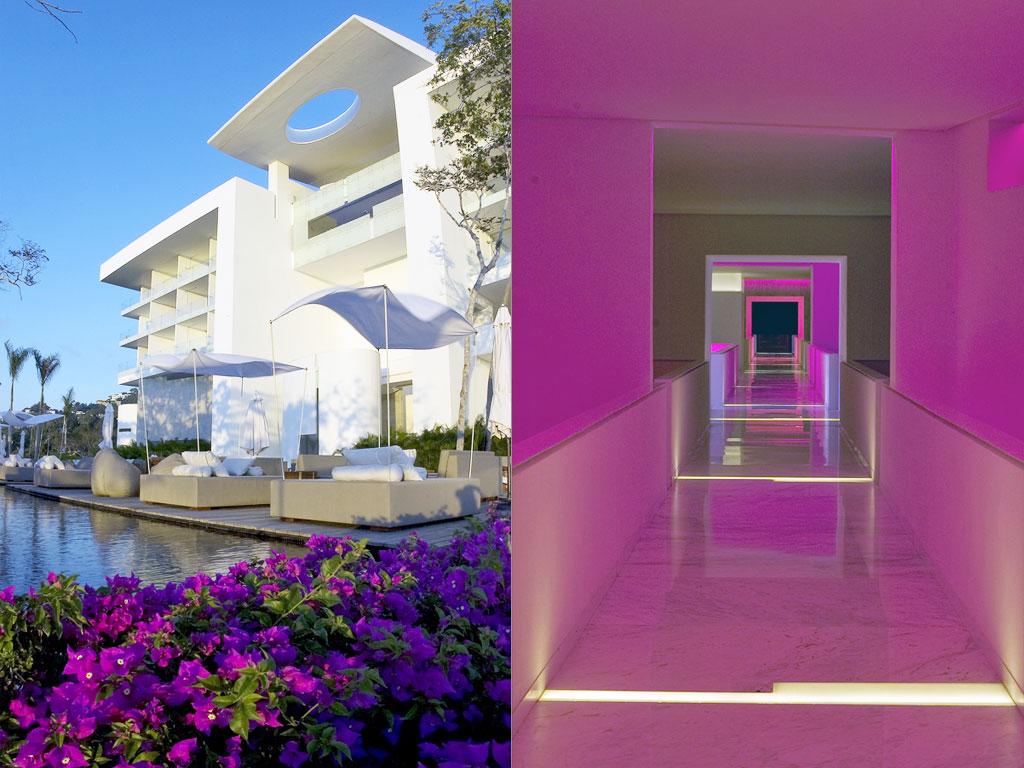 Hotel Exterior: Acapulco's Brilliant Uber-Modern Hotel Encanto