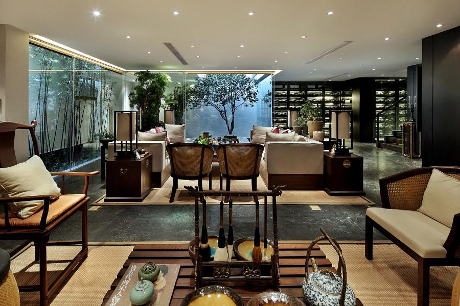 Swell Modern Chinese Living Interior Design Ideas Spiritservingveterans Wood Chair Design Ideas Spiritservingveteransorg
