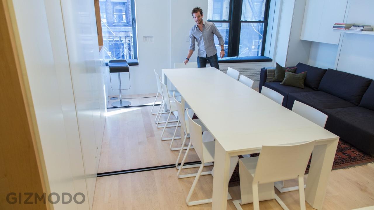 14 Tiny House Modern Dining Table Set Interior Design Ideas
