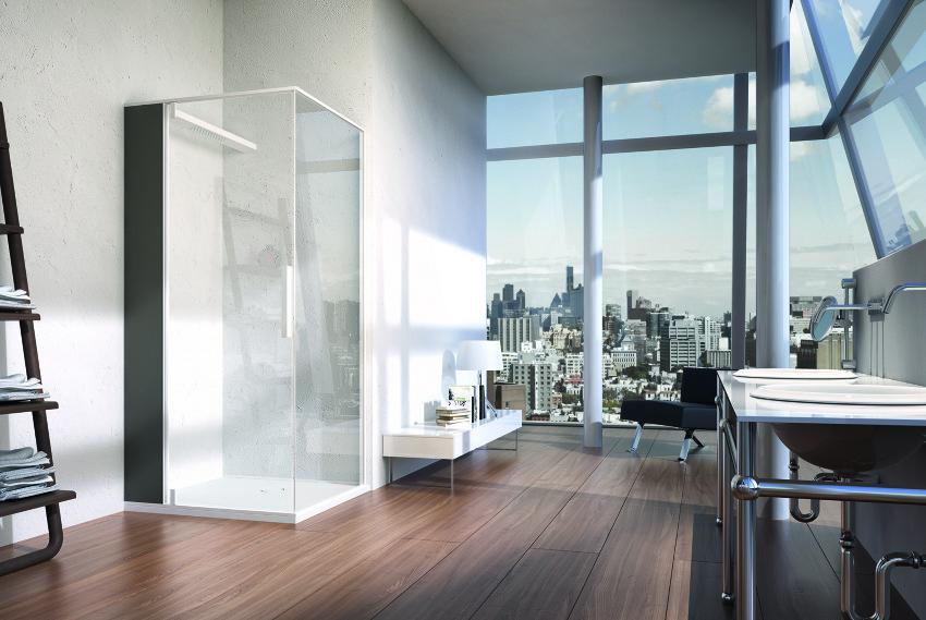 Danelon Meroni Huge Bathroom With Urban Views And