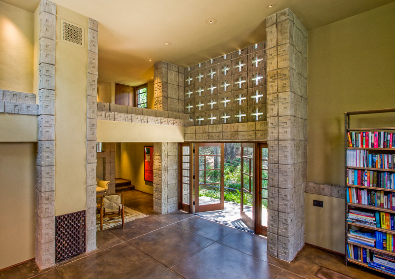 Frank Lloyd Wright Millard House Interior Design Ideas