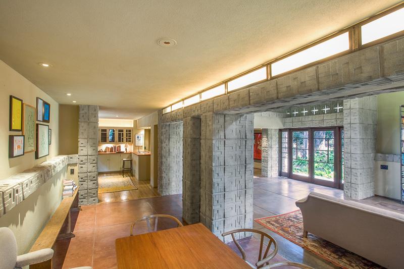 Frank Lloyd Wright Millard Houseinterior Design Ideas