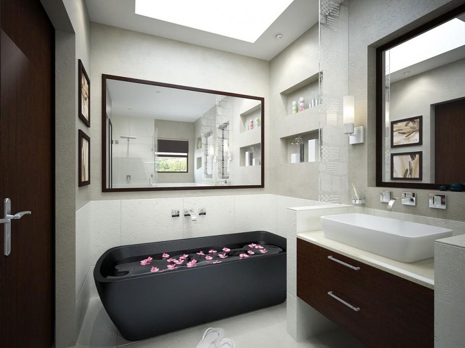Inspirational Bathrooms: Modern Bathroom Inspiration
