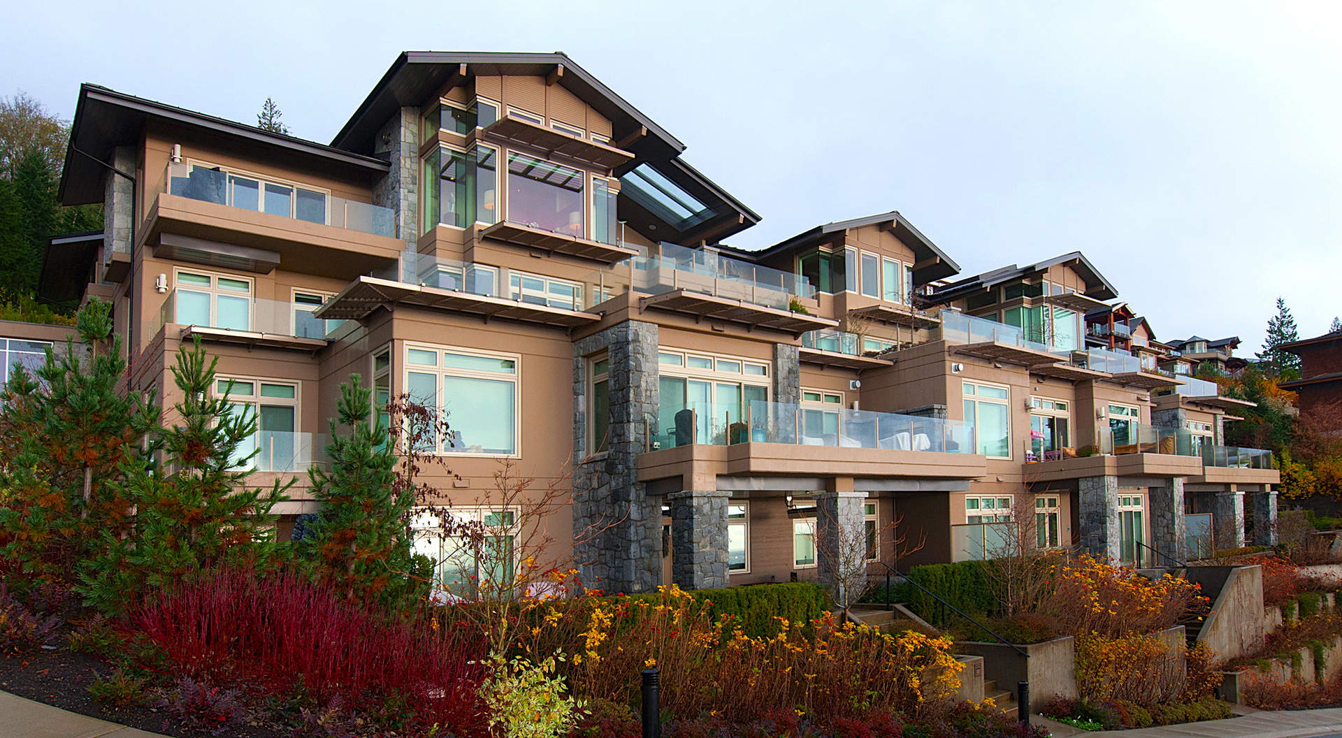 Exterior Kitchen Spectacular West Coast Penthouse In Vancouver S Aerie Ii