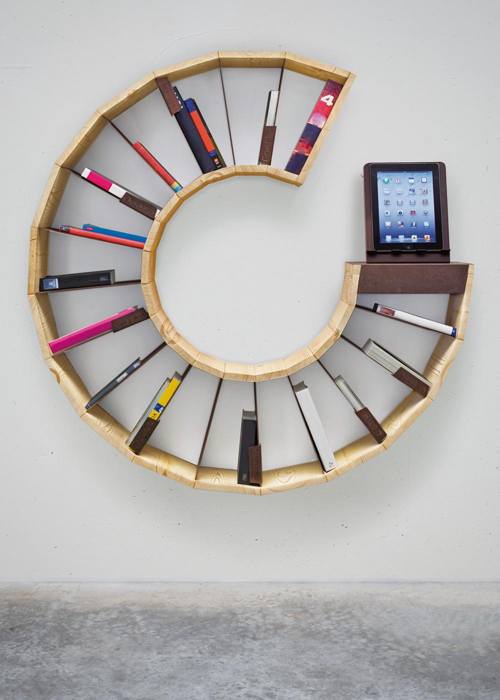 Astounding 20 Creative Bookshelves Modern And Modular Interior Design Ideas Inamawefileorg