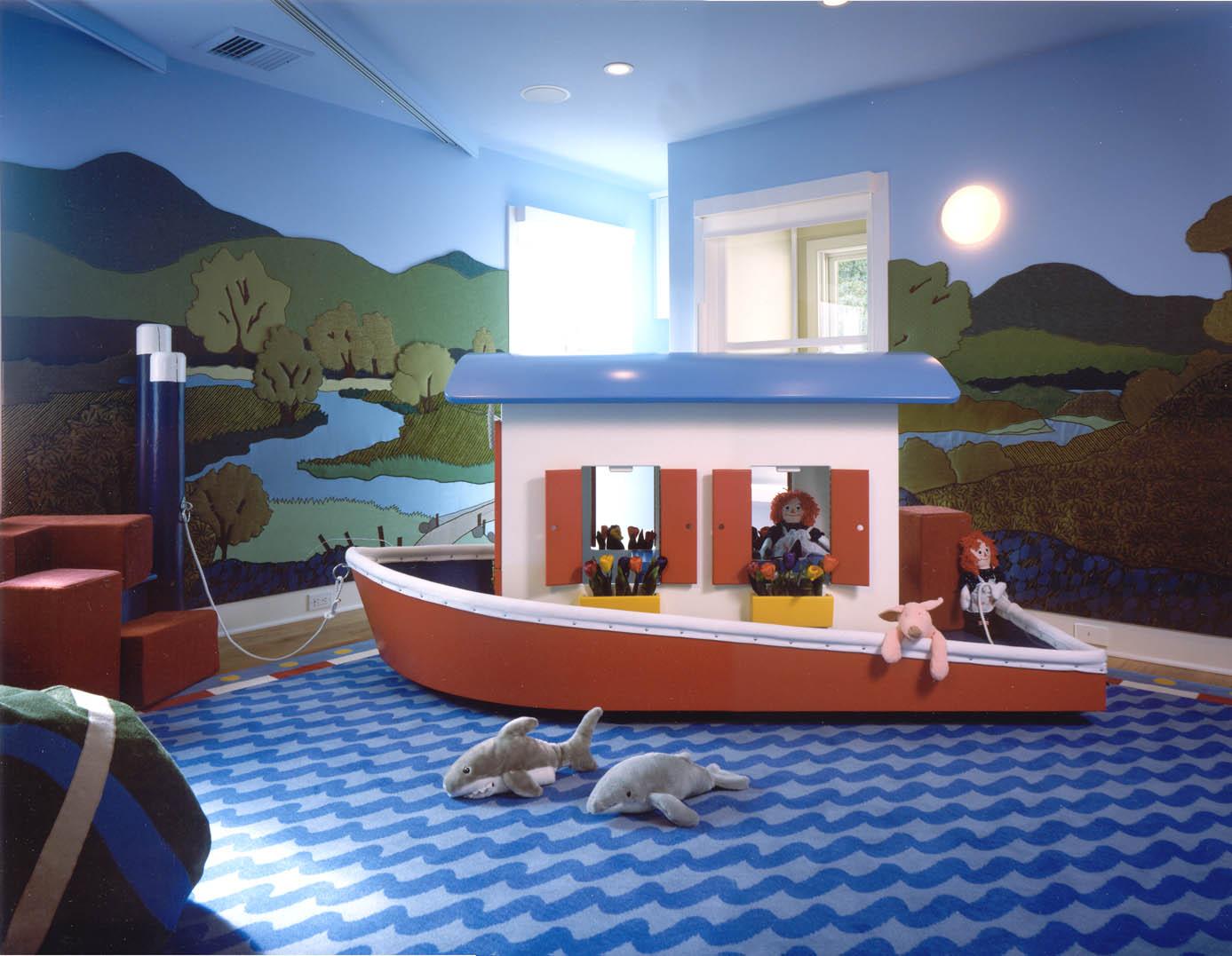 Kids Room Wall Design: Kids Playroom Designs & Ideas