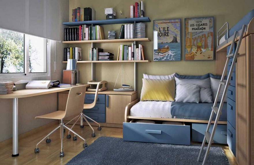 Boys 39 room designs ideas inspiration - Bedroom ideas for teenage guys with small rooms ...
