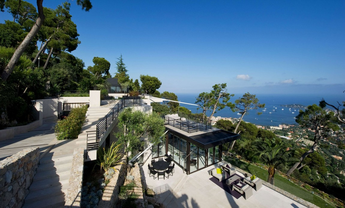 Magnificent Villa On France S Bay Of Villefranche