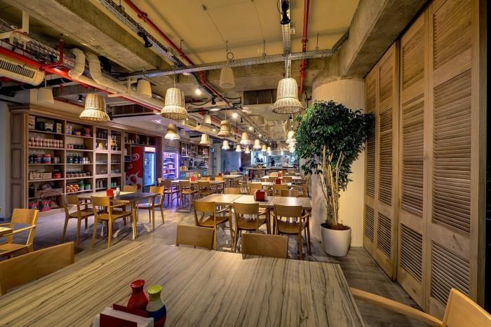 interior kitchen the home tel aviv design | Google Offices in Tel Aviv, Israel
