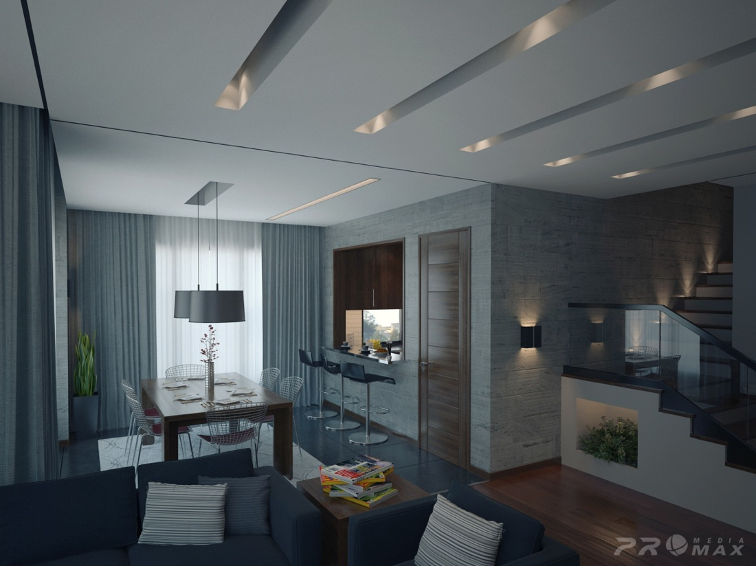 hree Modern partments: rio of Stunning Spaces - ^
