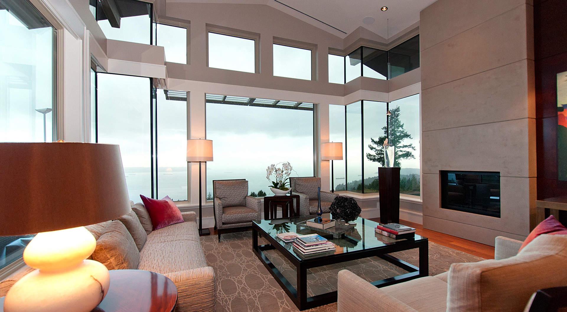 Modern Open Living Room