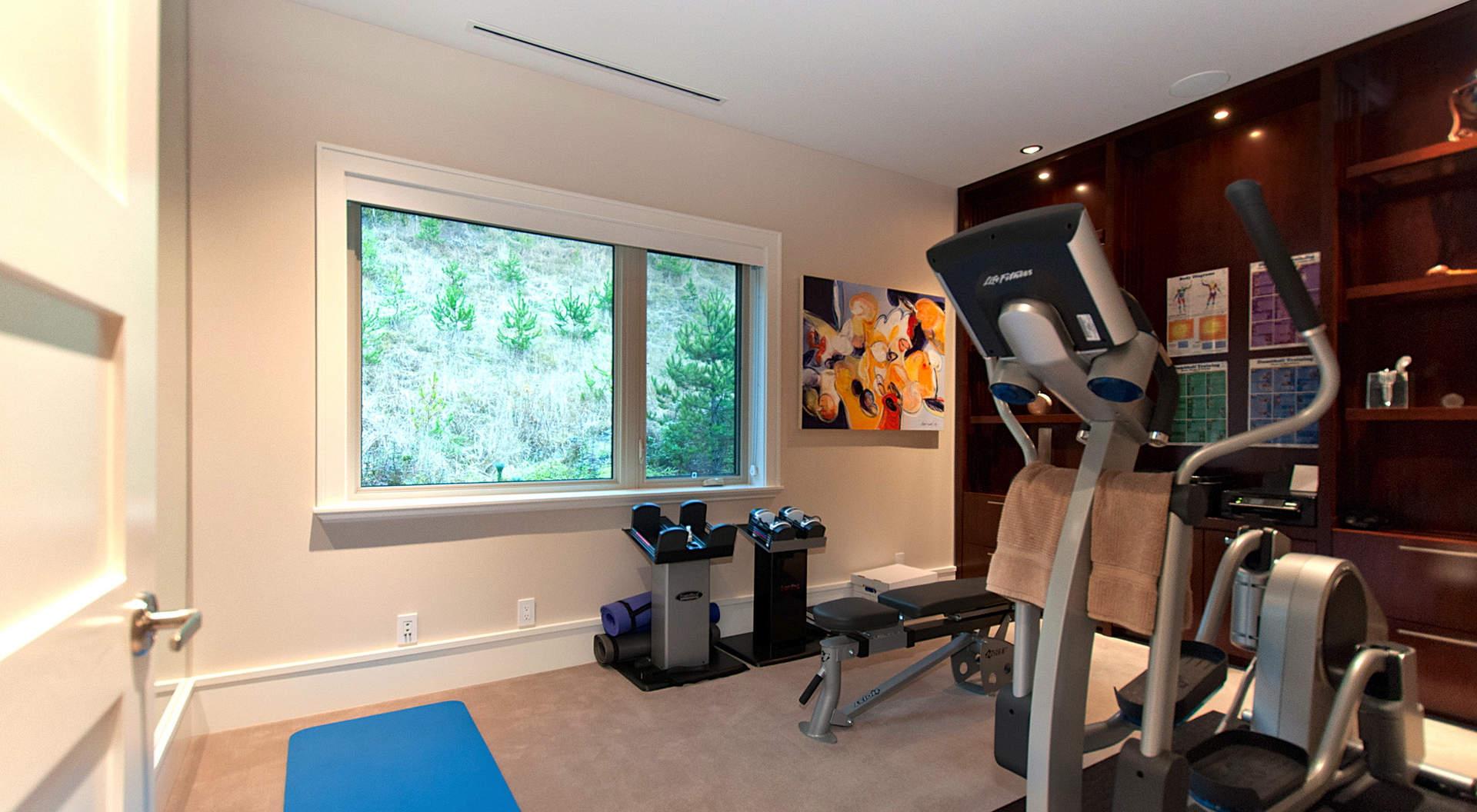 design home gym. Penthouse Home Gym  Interior Design Ideas