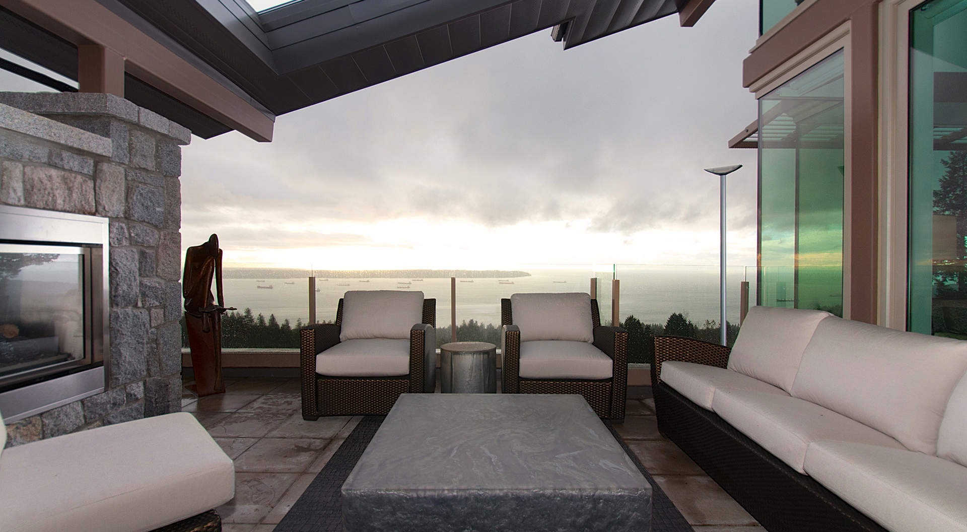 penthouse terrace lakeview | Interior Design Ideas.