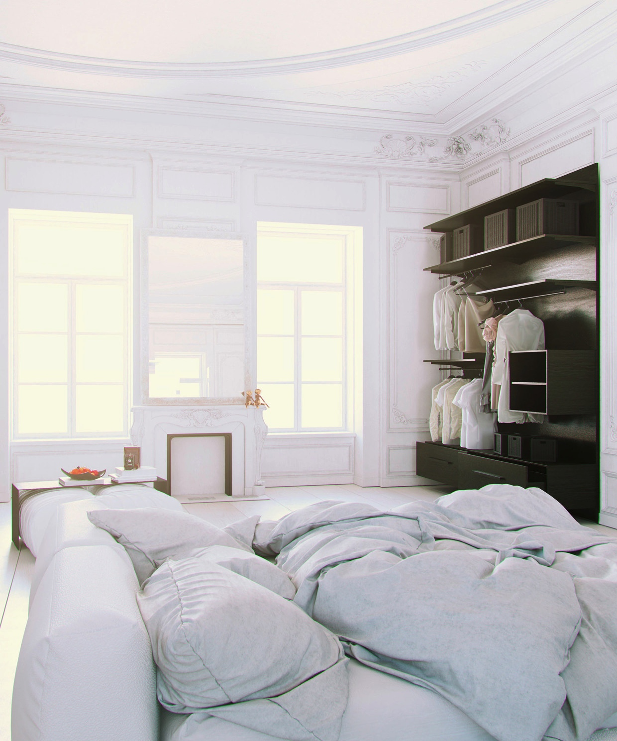 Improve Interior Design Product Sourcing With 3d Home: Scandinavian & Parisian Apartments In White