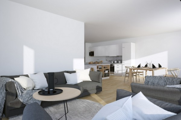 Scandinavian Amp Parisian Apartments In White