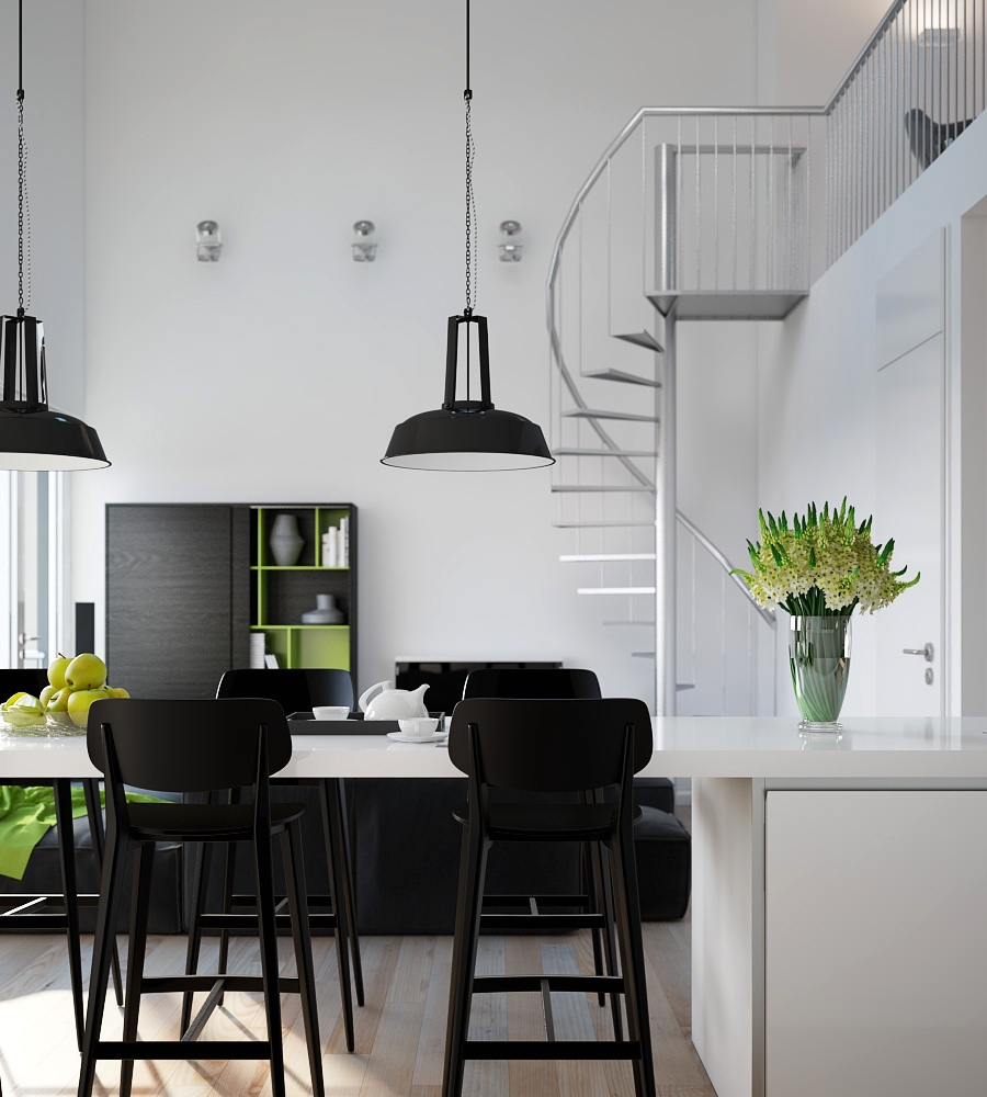 Modern Apartment: Visualizations Of Modern Apartments That Inspire