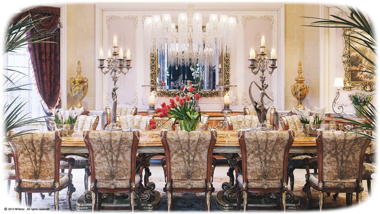Picture of: Luxury Villa Dining Room 2interior Design Ideas