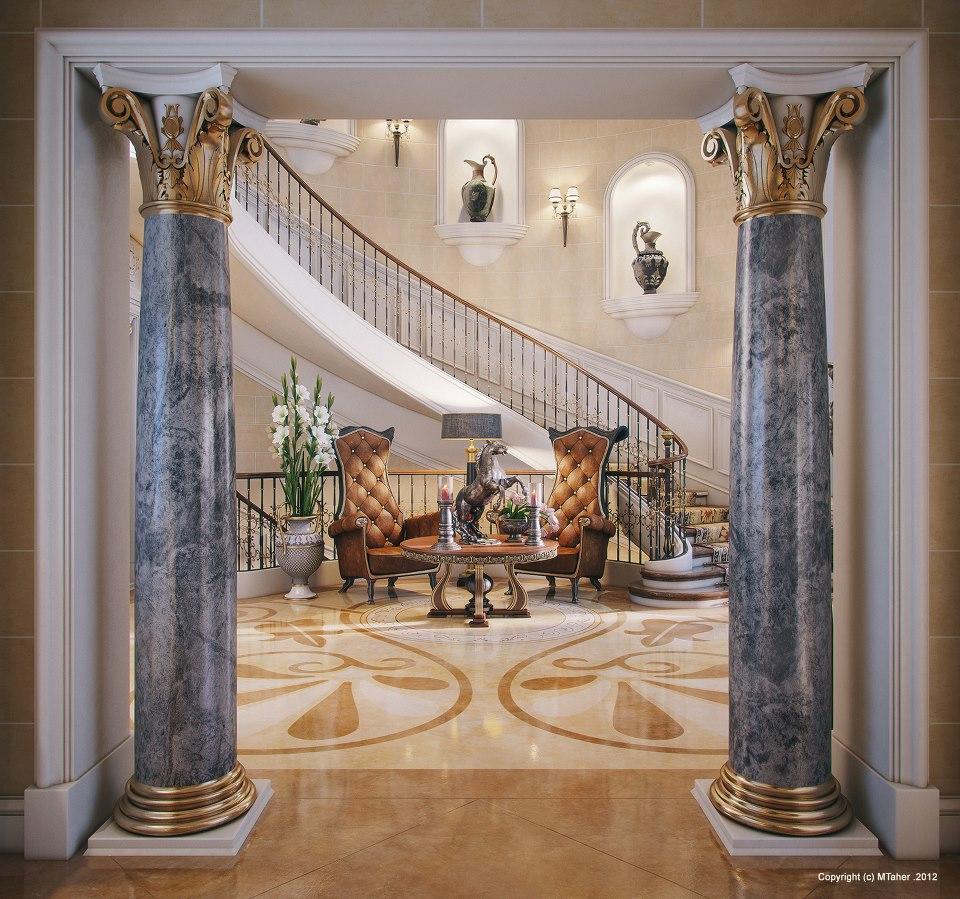 Luxury Home Design Gallery: Luxury Villa In Qatar [Visualized]