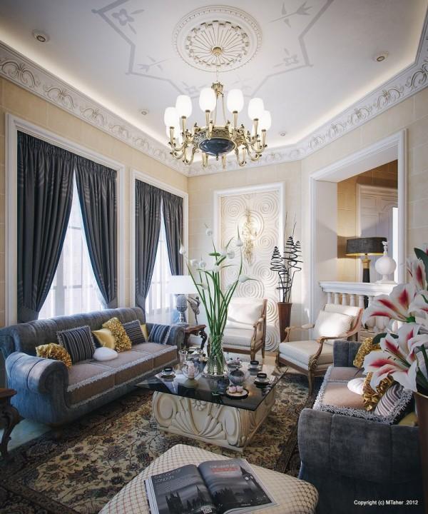 Qatar Luxury Homes: Luxury Villa In Qatar [Visualized]