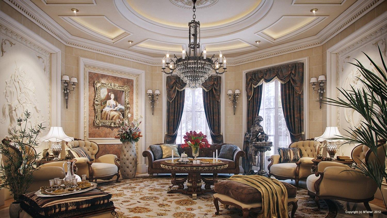 Luxury Villa in Qatar Visualized - ^