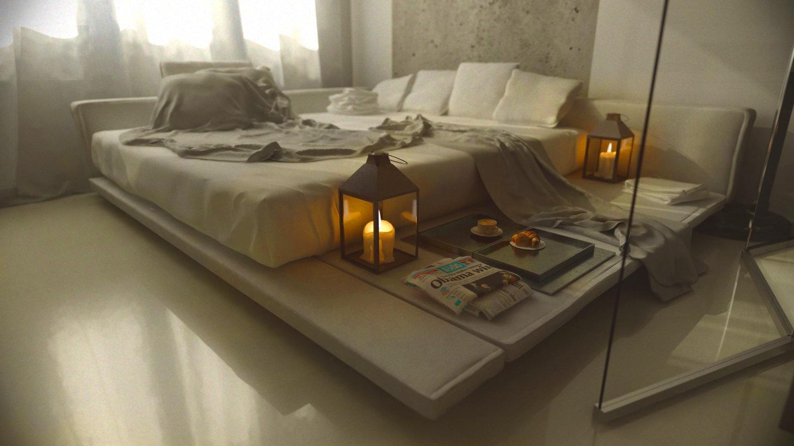 19 bedrooms with neutral palettes. Black Bedroom Furniture Sets. Home Design Ideas