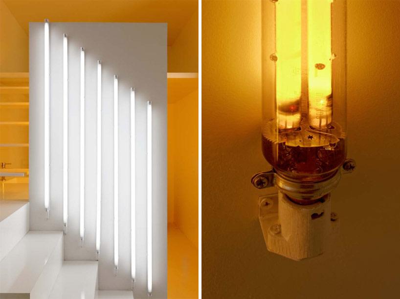 Tiny parisian studio apartment uses innovative lighting techniques
