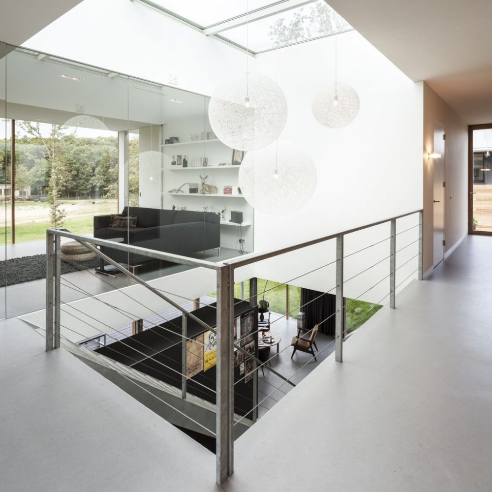 16 Enchanting Modern Entrance Designs That Boost The: Villa V By Paul De Ruiter Architects