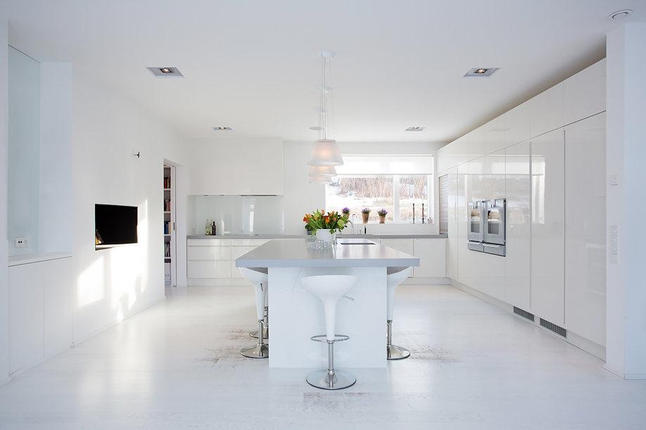 Modern sweidish villla kitchen modern swedish villa by thomas eriksson