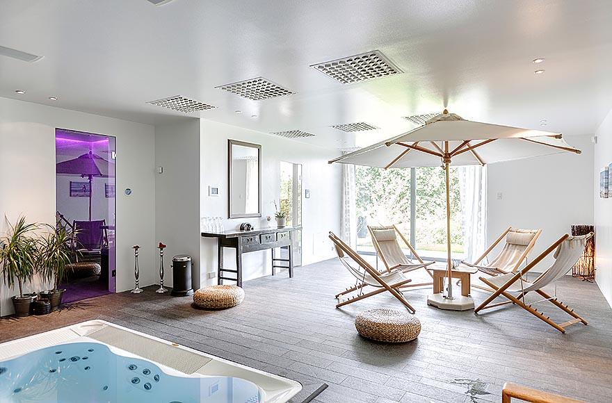 Exotic villa on swedish island lidingo