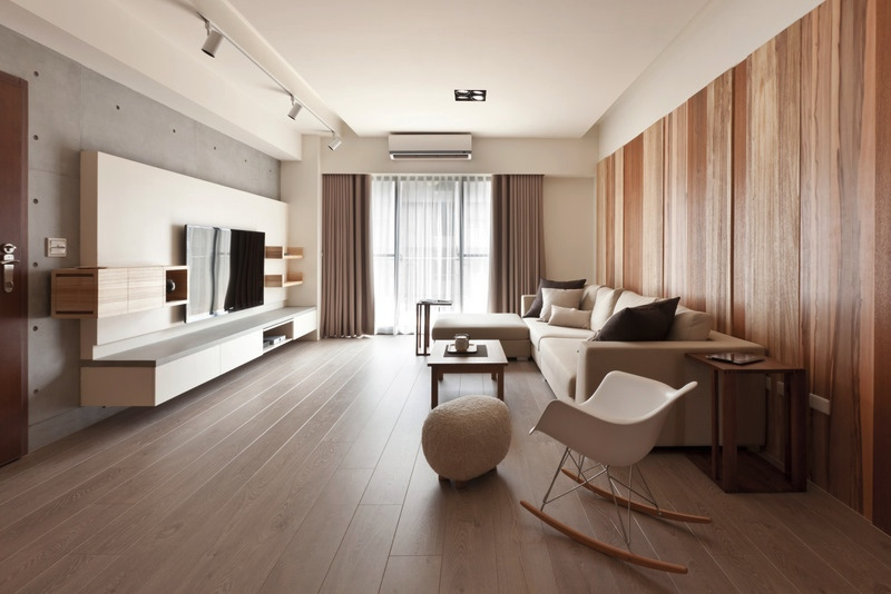 Natural modern decor living room interior design ideas