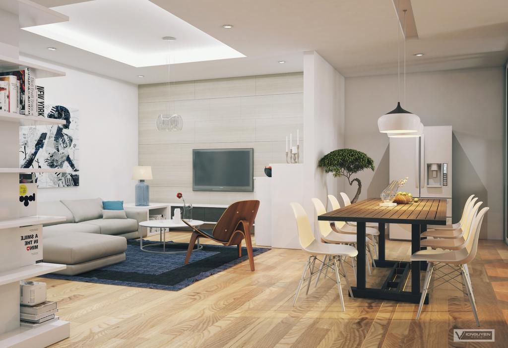living cum dining interior design ideas. Black Bedroom Furniture Sets. Home Design Ideas