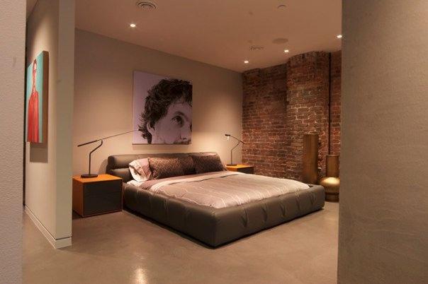 cool garage decorating ideas - modern bachelor apartment master bedroom 1