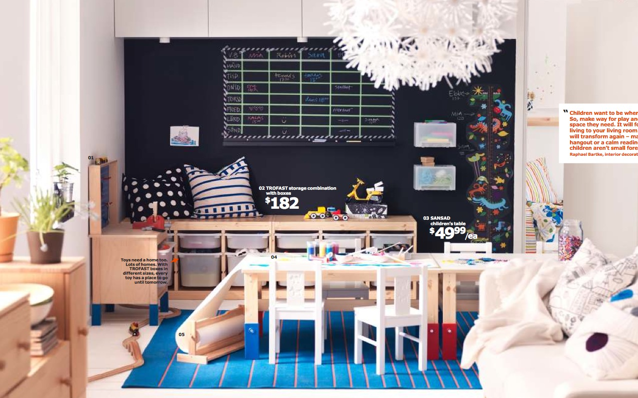 2014 Ikea Kids Living Interior Design Ideas