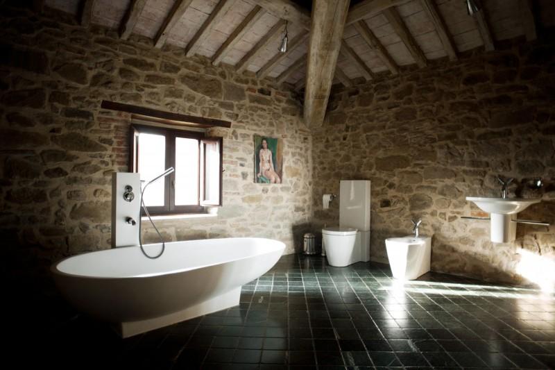 Bathroom Another Stunning Show: Casa Bramasole: Yet Another Stunning Umbrian Villa
