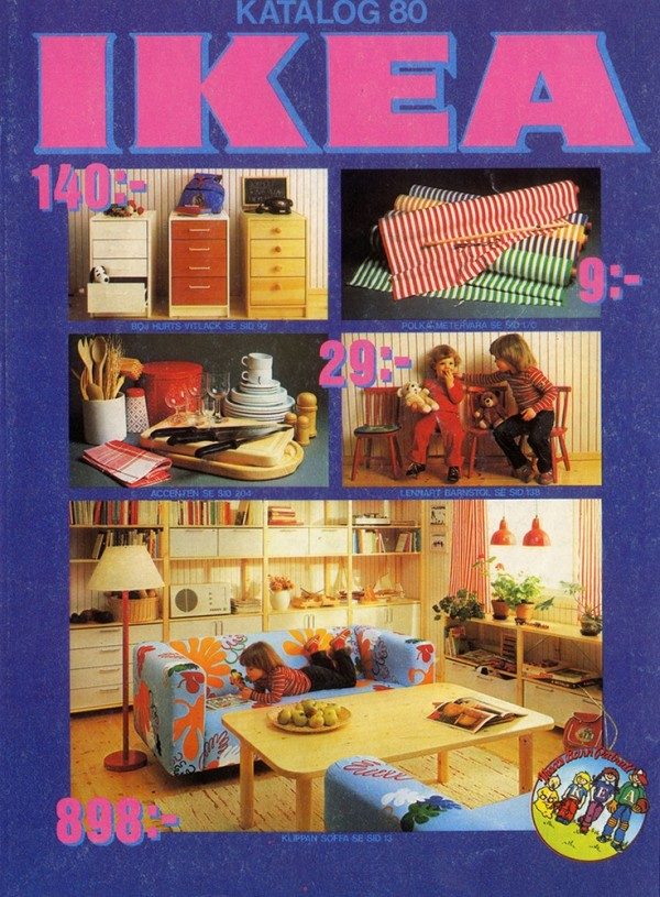 ikea catalog covers from 1951 2018. Black Bedroom Furniture Sets. Home Design Ideas