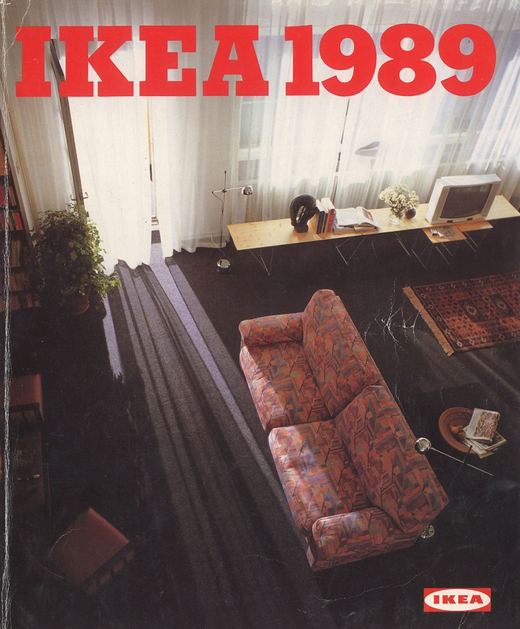 Ikea 1989 Catalog Interior Design Ideas