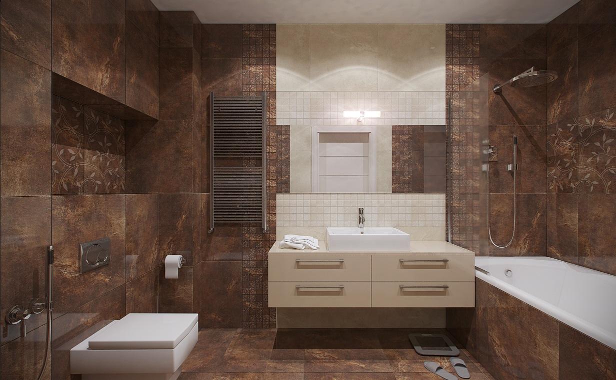 Apartment Bathroom Designs: Urban Loft By Nordes Design