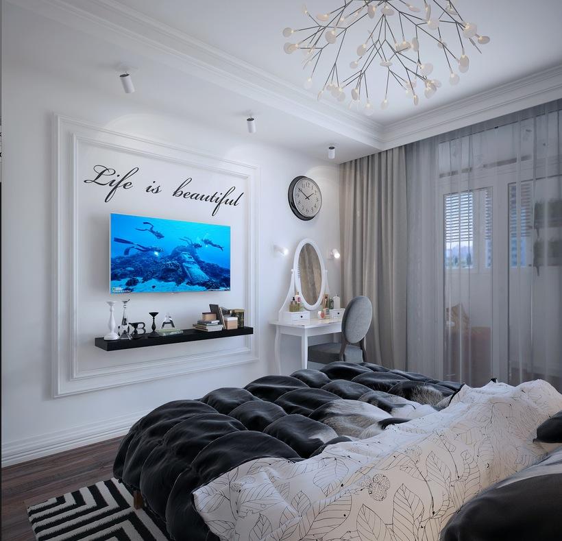Apartment in ukraine visualized