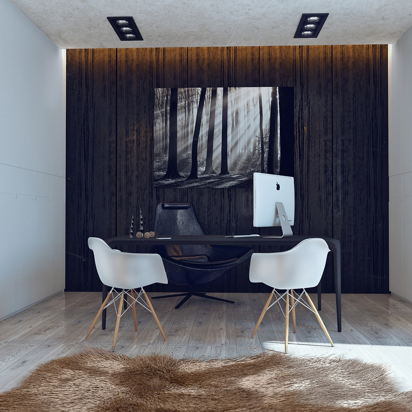 His And Hers Apartment Interior Design By Angelina Alexeeva Visualized