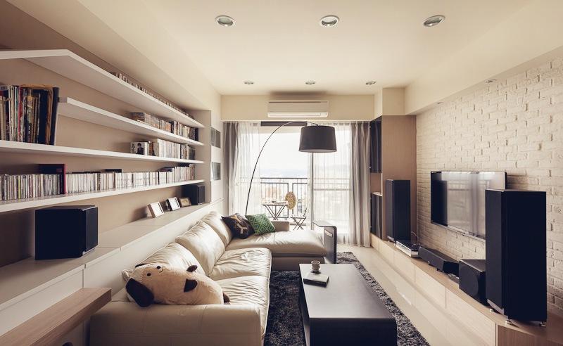 Cat House 15 Interior Design Ideas. Loft Apartment Long Narrow Living Room  Interior Ideas