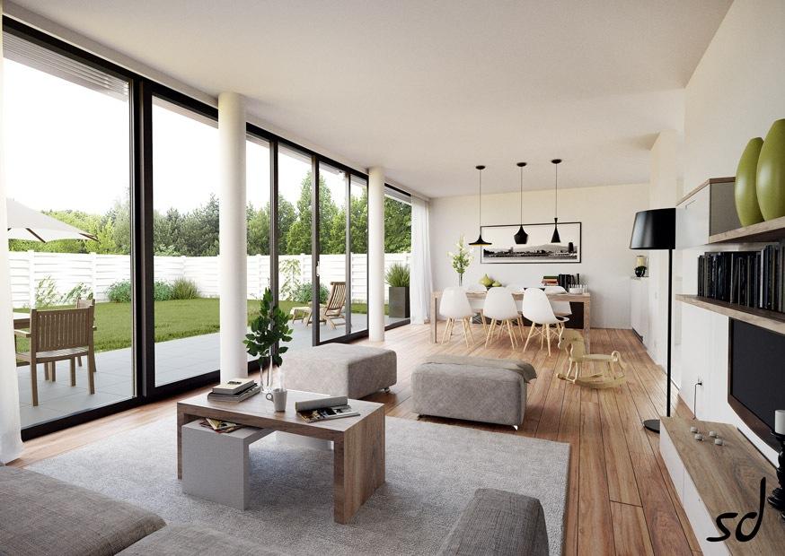 Living With Floor To Ceiling Windows Interior Design Ideas