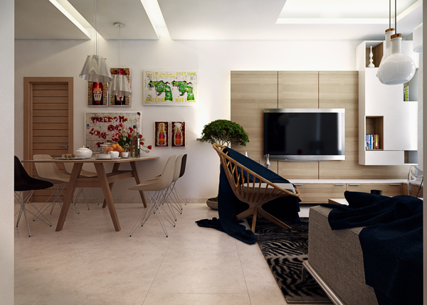 Five Apartments By Koj Design Visualized