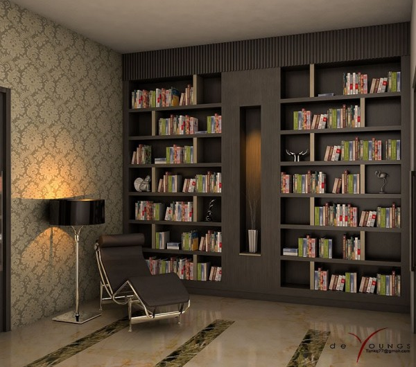 Beautiful Reading Corners Visualized
