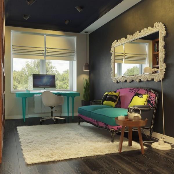home design modern.  Modern Pop Art Style Apartment