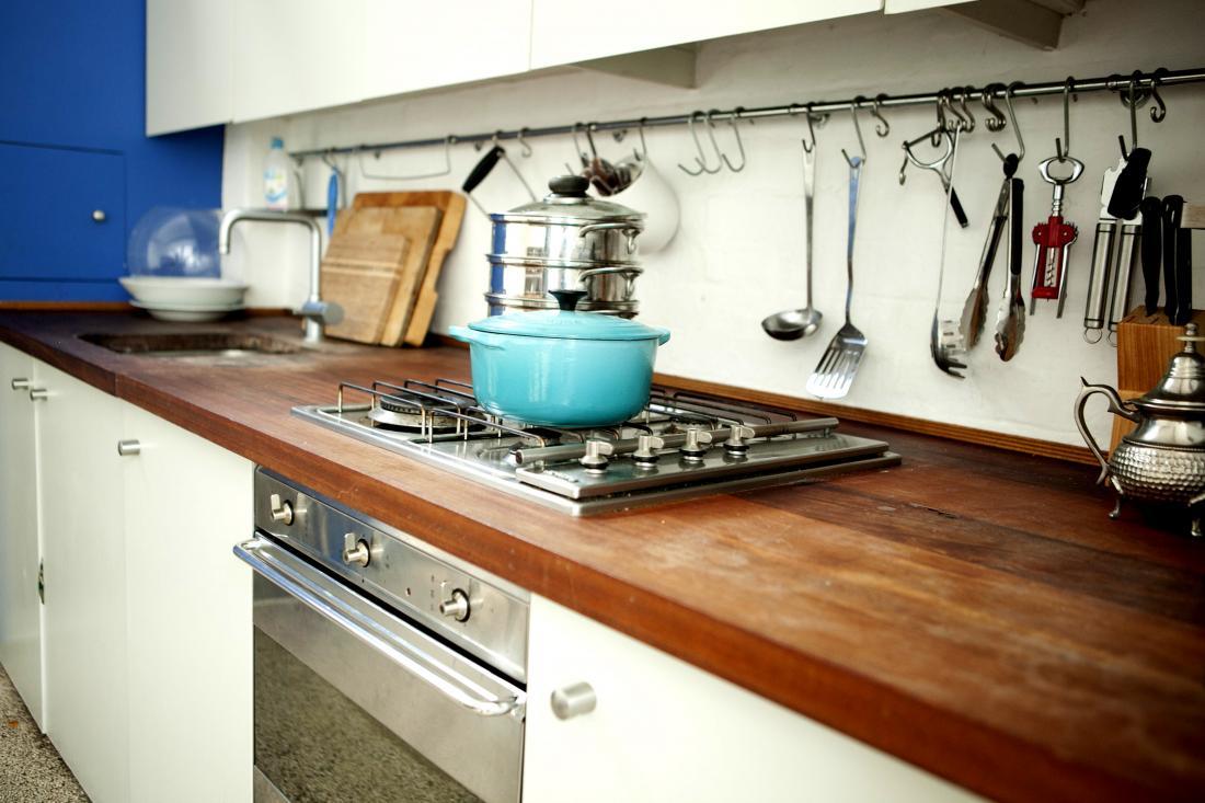 Kitchen Counter Stove Top Interior