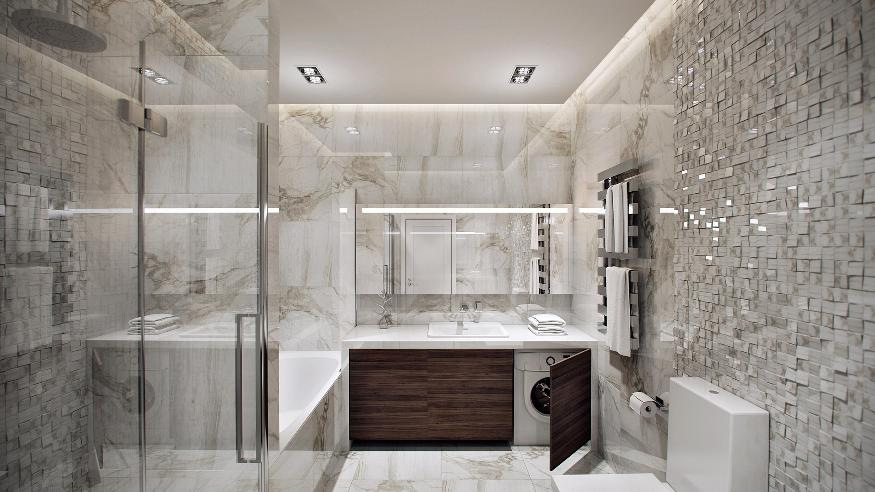 Marble Bathroom Ideas To Create A Luxurious Scheme: DOM : Pločice Za Kupatila