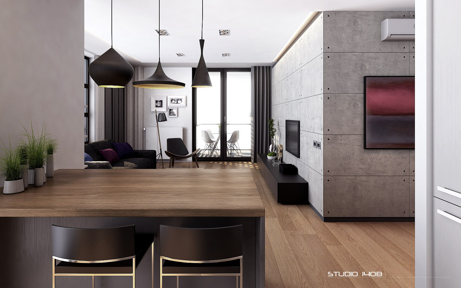 cool modern minimalist apartment design | Apartment Living for the Modern Minimalist