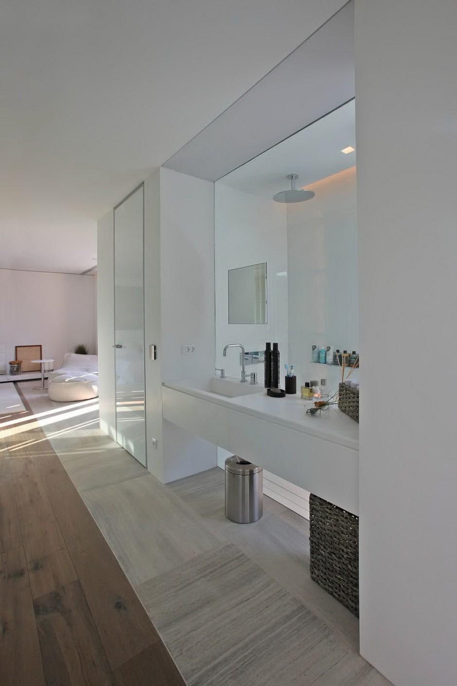 Open Glass Shower Interior Design Ideas